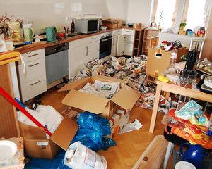 引越しで一番面倒なのがキッチンまわりの荷造り(梱包)方法。